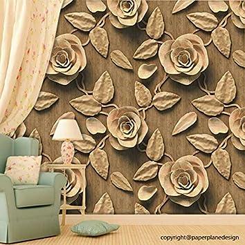 Paper Plane Design Self Adhesive Wallpaper Pvc Vinyl 3 Rolls Size 45 Sqft