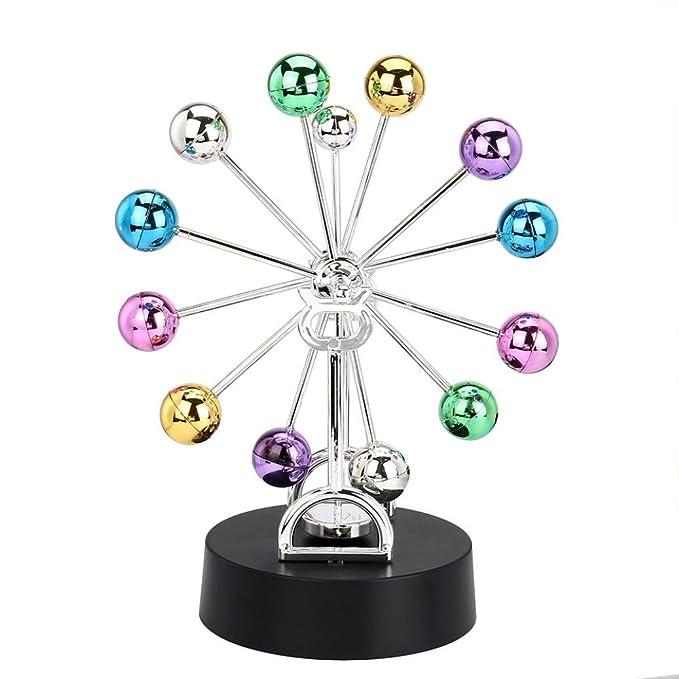 d478572157d Rawdah Elettronico Perpetuo Movimento Scrivania Giocattolo Girevole Balance  Balls Giocattolo di scienze fisiche Revolving Balance Balls
