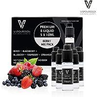 VAPOURSSON 5 x 10 ml Liquid E Berry