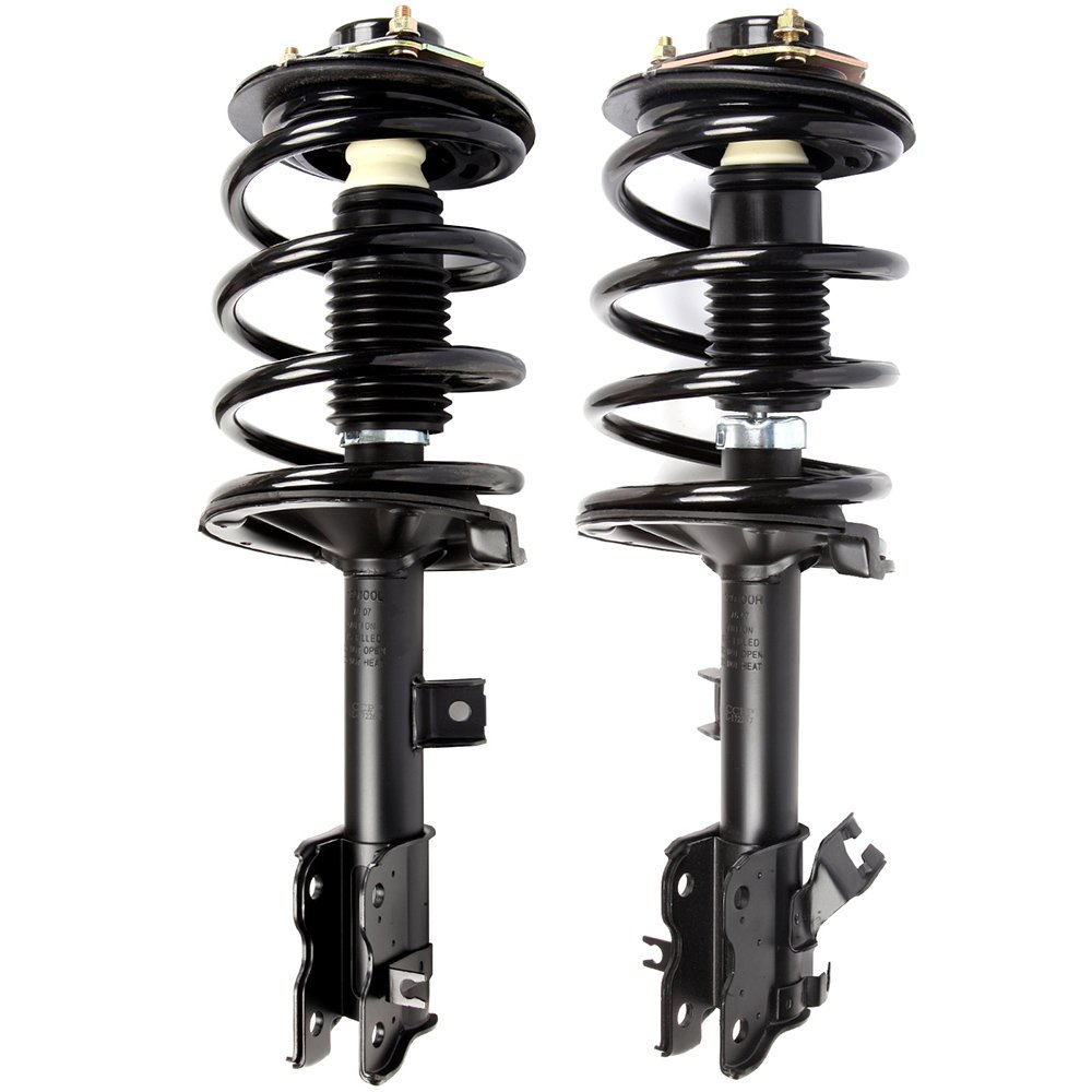 ECCPP Complete Struts Spring Assembly Front Struts Shock Absorber Fit for 2003-2014 Volvo XC90 Set of 2