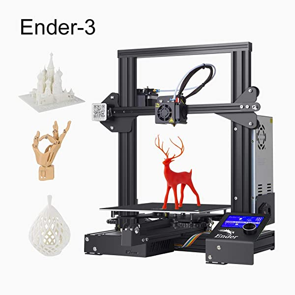 220 x 220 x 250mm 3D Ender 3 V-slot Creality DIY 3D Printer Kit with Nozzle