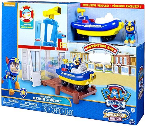 Paw Patrol Adventure Beach Beach Tower [並行輸入品]   B07RJJKTCH