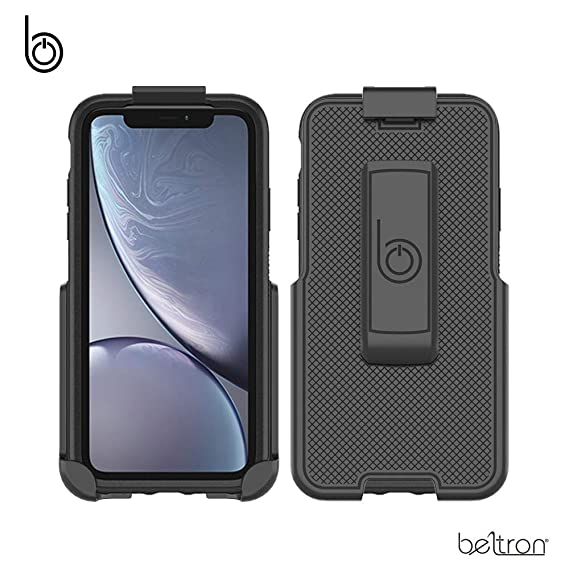 best website 48655 b26a0 Belt Clip Holster for The OtterBox Symmetry Series - iPhone XR (case not  Included) - Features: Secure Fit, Quick Release Latch, Durable Rotating  Belt ...