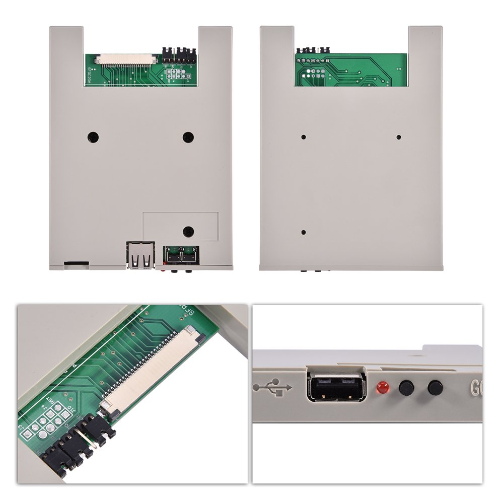 Richer-R Usb Emulator, SFRM72-DU26 720K USB Floppy Drive Emulator with High Security Data Protection, Easy to install and User-friendly for BARUDAN BENS Embroidery Machine by Richer-R (Image #5)
