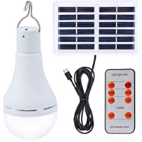 Solar Light Bulb Outdoor Portable Rechargeable Solar lamp Lights for Home Yard Patio Umbrella Chicken Coop Pet House…