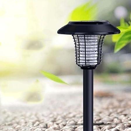 DNSJB Asesino del Insecto del Mosquito Solar, Insecticida De Acero Inoxidable, Repelente De Mosquitos De Jardín De Césped Residencial Al Aire Libre 180 * 180 * 520 (mm): Amazon.es: Hogar