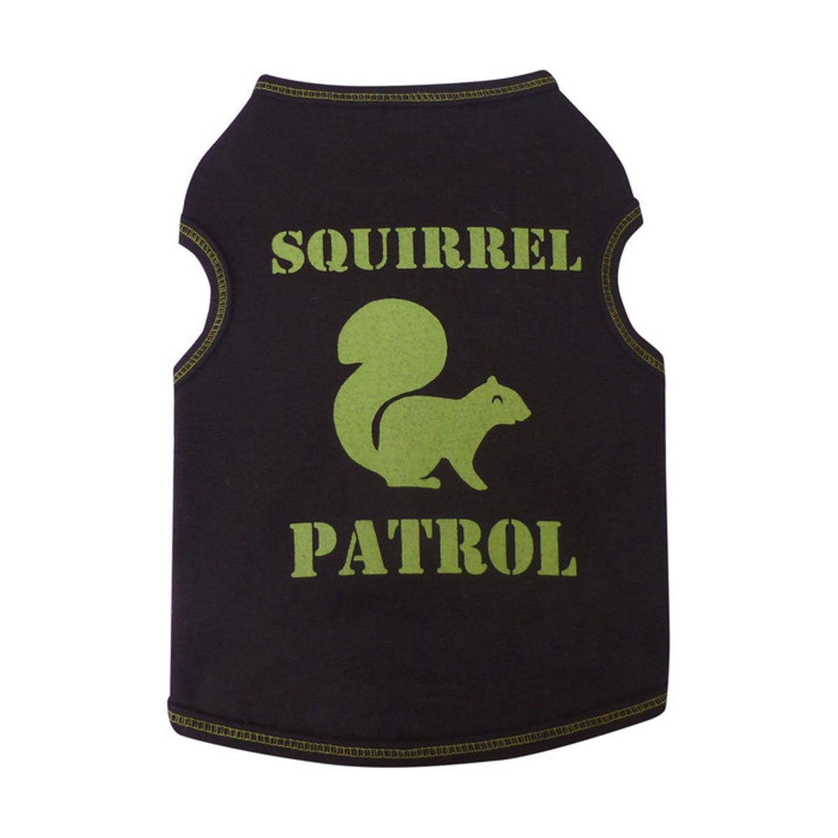I See Spot Squirrel Patrol Tank Medium Chocolate