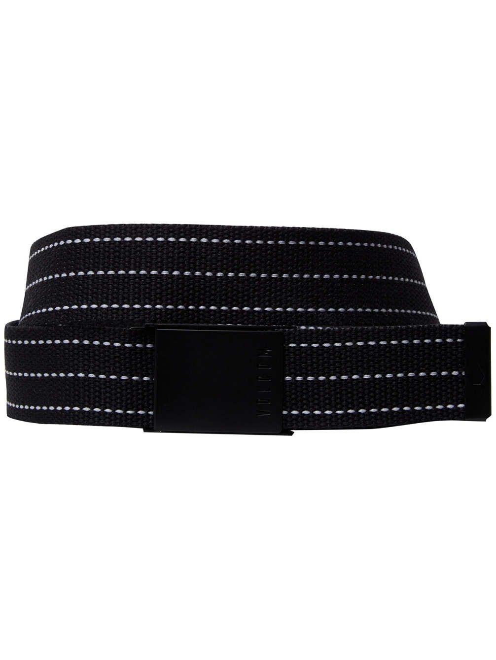 Volcom Herren Horizon Web Gürtel Black One Size D5931850