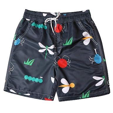 Cortos de Verano Pantalones de Pareja Impresión de Moda de Surf ...