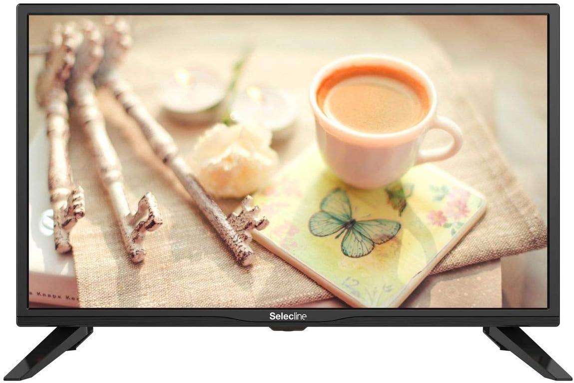 Selecline 24S19DC - TV LED HD (60 cm, HDR 12 V): Amazon.es: Electrónica
