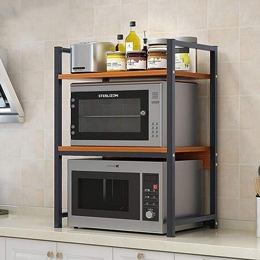 Estanterías para horno microondas 3-Tier Cocina Microondas Horno ...
