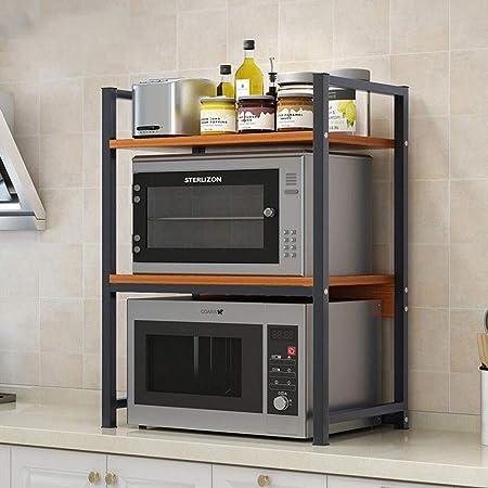 Estanterías para horno microondas 3-Tier Cocina Microondas ...