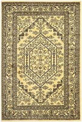 Safavieh Adirondack Collection ADR108H Gold and Black Oriental Vintage Medallion Square Area Rug Variation Family: 25 -P