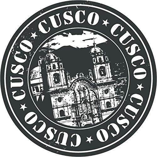 """JJH Inc Cusco Travel Peru Stamp Vinyl Decal Sticker Waterproof Car Decal Bumper Sticker 5"""""""