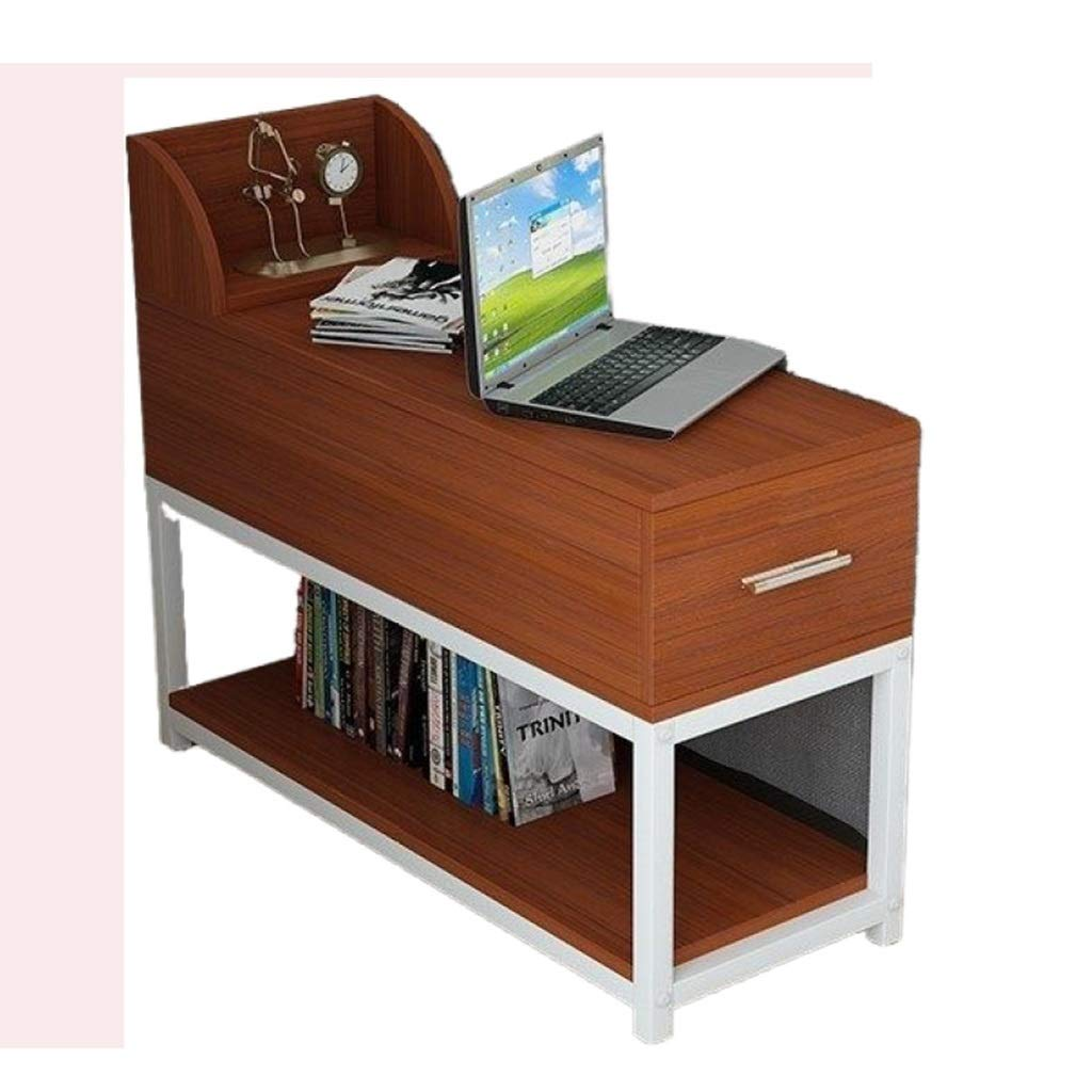 WDOPZMS Modern Household Removable Solid Wood Sofa Side Table Small Space with Drawer Storage Cabinet Narrow Table Living Room Bedroom Balcony End Table Easy to Assemble by WDOPZMS