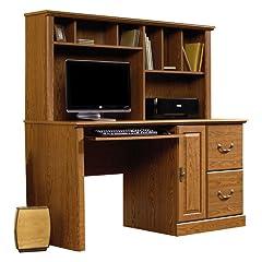 Sauder Orchard Hills Small Computer Desk with Hutch - Carolina