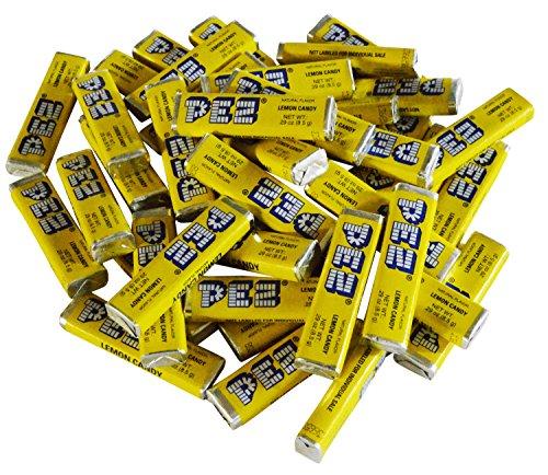 pez-candy-single-flavor-1-lb-bulk-bag-lemon-yellow-candy