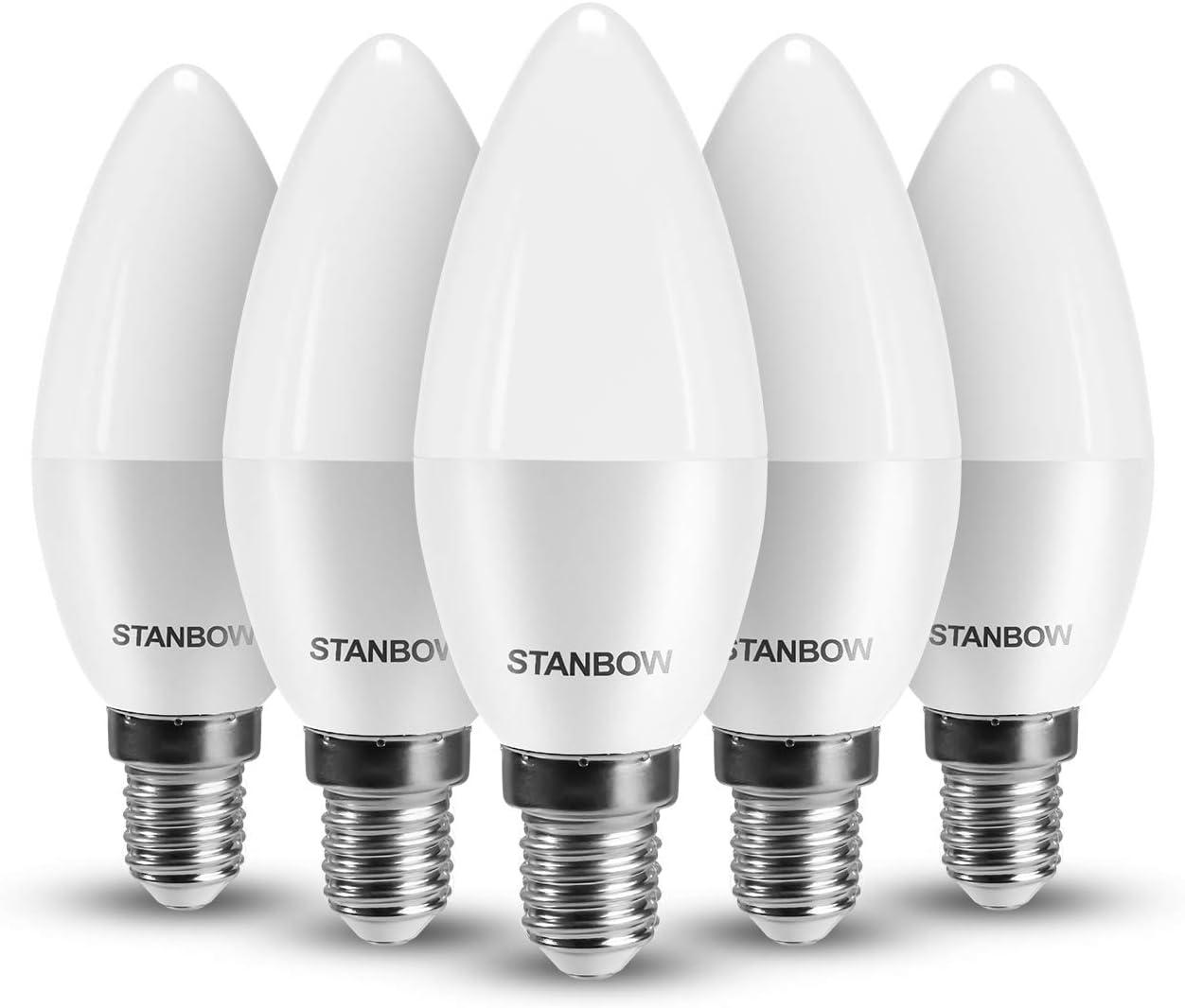 3 Pack E14 SES Corn Light Bulb No Strobe E14 Cooker Hood Bulbs 8 W LumenTY