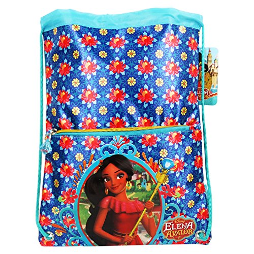 Disney Elena of Avalor Destiny Kid Child Drawstring Backpack Daypack Sport