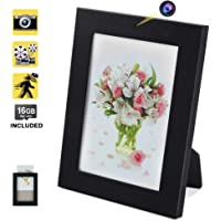 16GB Hidden Camera Spy DVR Photo Frame with Motion Activated Recording and Photo Taking Function