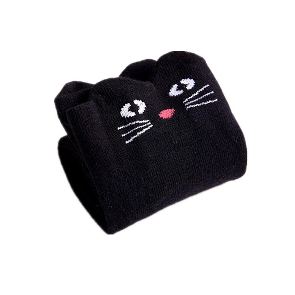 3365b24a790 Amazon.com  DreamHigh Baby Girl s Cat Knee High Socks  Clothing
