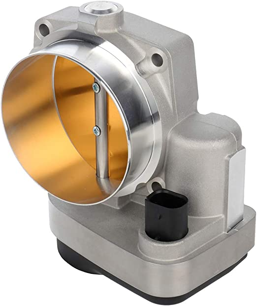 2011-2012 Ram 1500//2500// 3500 4591847AC 2009-2012 Dodge Challenger 2005-2010 Dodge Ram 1500//2500 ECCPP 90mm Enlarged Throttle Body Air Control Assembly Fit For 5.7L 2005-2012 Chrysler 300