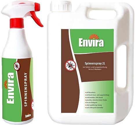 envira arañas de medio 500 ml y 2ltr