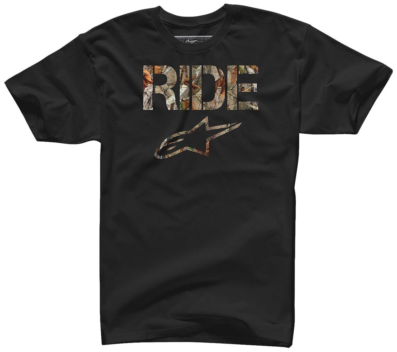 Alpinestars Men's Ride Camo Crew Neck Short Sleeve T-Shirt