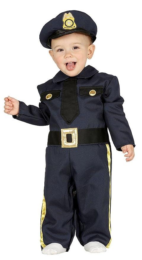 FIESTAS GUIRCA Traje del bebé el policía Oficial de policía Estadounidense