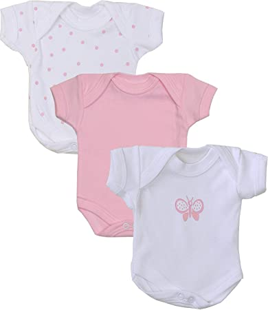 6132e8e174a1 Image Unavailable. Image not available for. Color: BabyPrem Baby 3 Pk Preemie  Tiny Clothes Bodysuits ...
