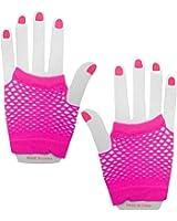 Panja Short Net Gloves (Pink)