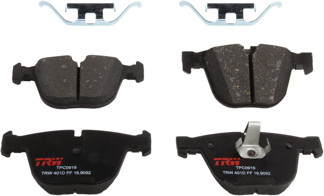 2007-2018 and other applications Rear TRW Automotive TPC0919 Disc Brake Pad Set for BMW X5