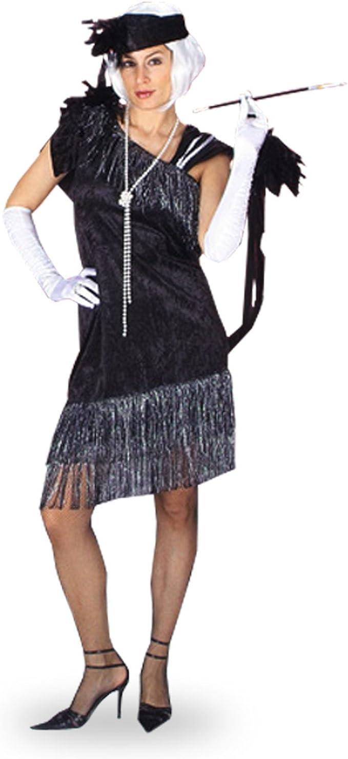 Das Kostümland Charlston Kleid mit Stirnband für Damen 18er Jahre
