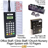 Long Range Systems Staff Paging Kit (10 Pagers)