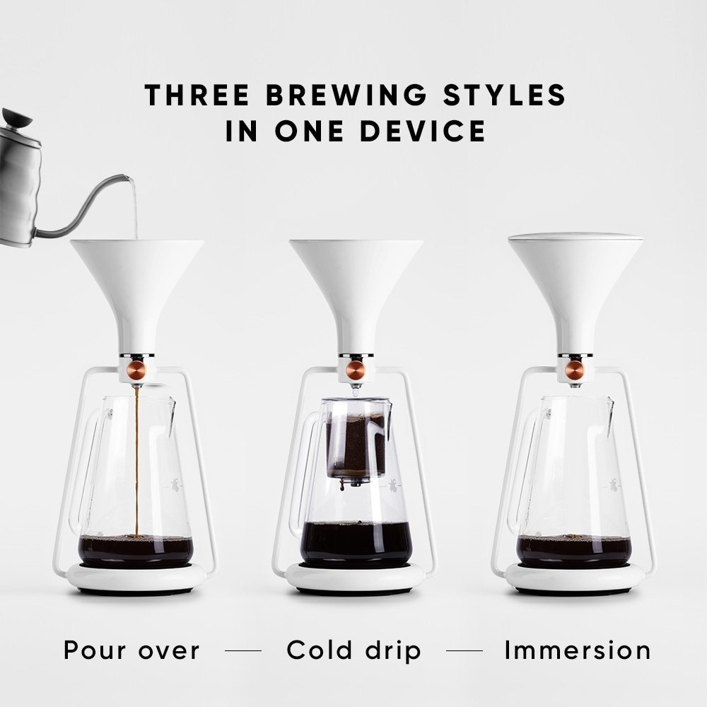 fde74314063653 Amazon.com: Goat Story GINA Smart Coffee Brewing Instrument by: Kitchen &  Dining