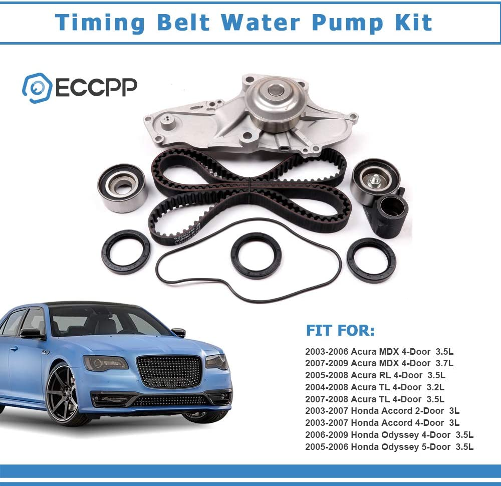 Mplus Engine Timing Belt Kit W/Water Pump Compatible with 03-06 ...