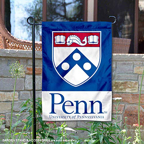 College Flags and Banners Co. Penn Quakers Shield Garden Flag
