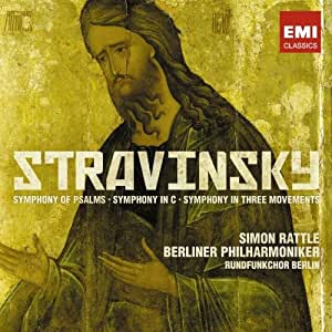Stravinsky:Symphony of Psalms