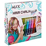 ALEX Toys - Spa Fun, Tattoo's and More, Hair Chalk Salon Craft Kit, 738W