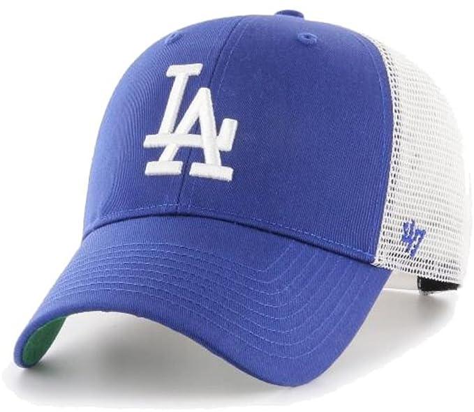 47_brand Gorra MLB Los Angeles Dodgers MVP Trucker Branson Azul ...