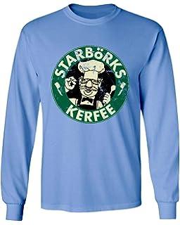 159cfd031 TMB Apparel New Novelty Shirt Swedish Chef Sesame Starborks Kerfee Funny  Men's Long Sleeve T-