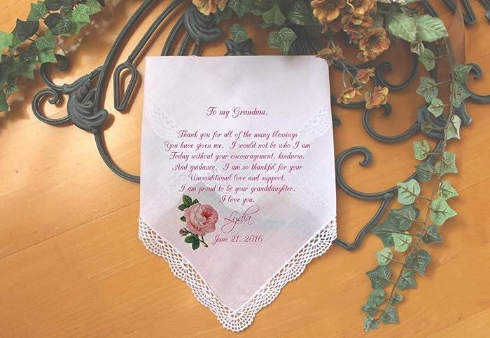 Grandma Handkerchief gift from the Bride-Weddings-PRINT-CUSTOMIZED-Wedding Hankies-Grandmother Gift-Grandma Hankerchief-Bride Gift-LS5FCAC by Snugahug[10]