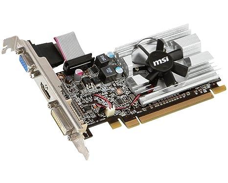 MSI R6450-MD1GD3 AMD Radeon HD 6450 - Tarjeta gráfica (PCI-e ...