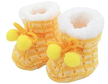sale retailer 9c3a9 ad08b BONAMART ® Baby Junge Mädchen Newborn Neugeborenes Schuhe Winter Puschen  Socken 0-3M