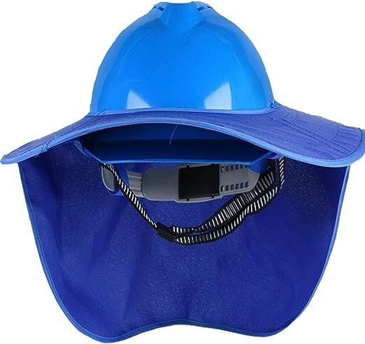 Casco De Seguridad En El Trabajo, Gorra De Protección Solar For La ...