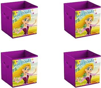 made2trade - Caja de almacenaje plegable para habitación infantil, Princesas I: Amazon.es: Deportes y aire libre