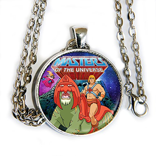 HE-MAN, Orko, and Battle Cat - Masters of the Universe - pendant necklace - HM ()