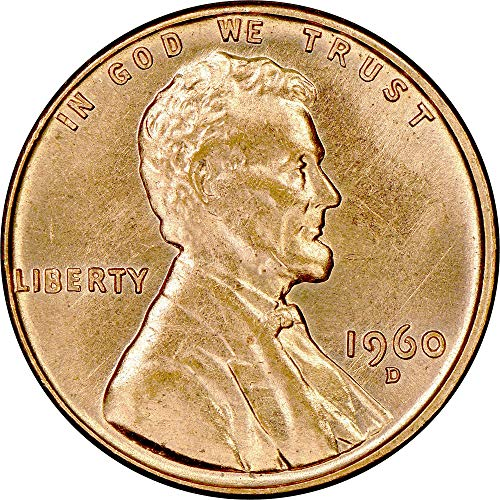 1960 D Lincoln Cent 1c Brilliant Uncirculated ()