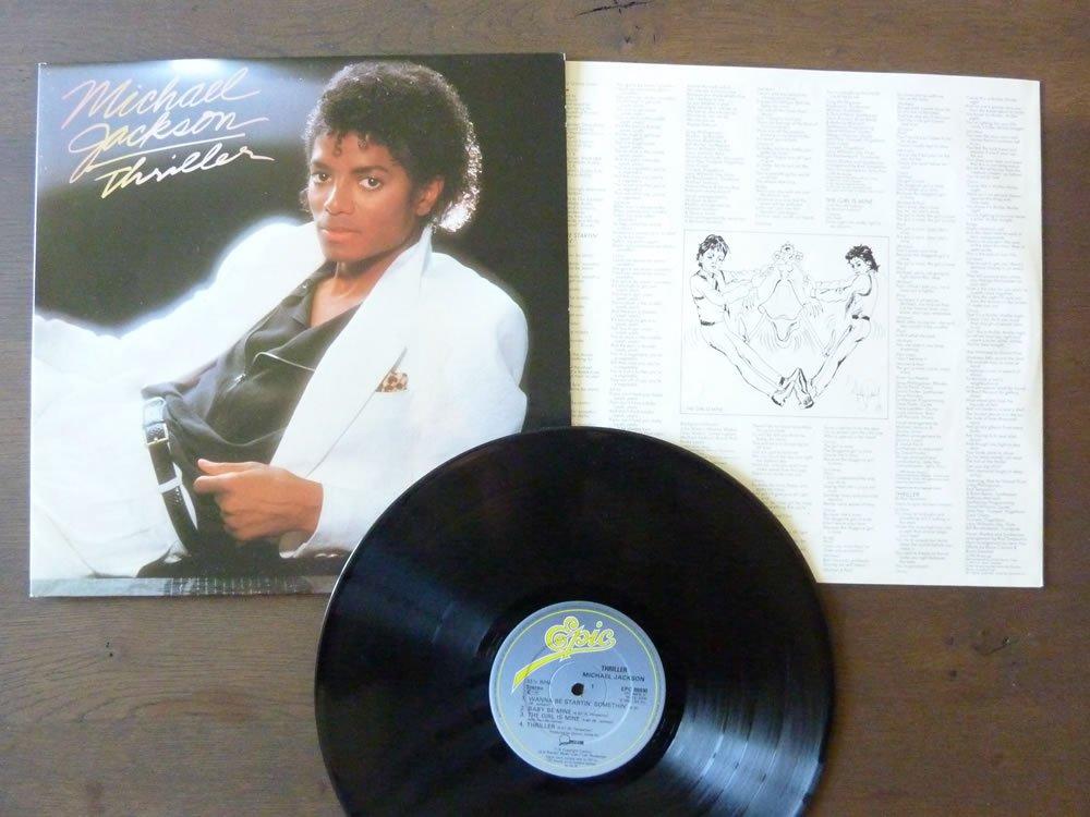 - Michael Jackson Thriller 1982 UK vinyl LP EPC85930 - Amazon.com Music
