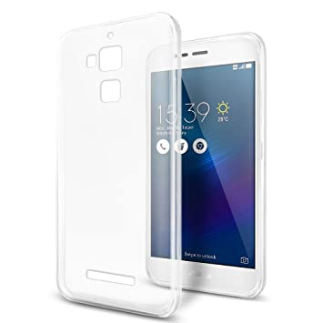 Funda ASUS Zenfone 3 Max ZC520TL, SLEO Carcasa Protectora Silicona TPU Ultra Transparente y Super Delgada Resistente a los Arañazos para ASUS Zenfone ...